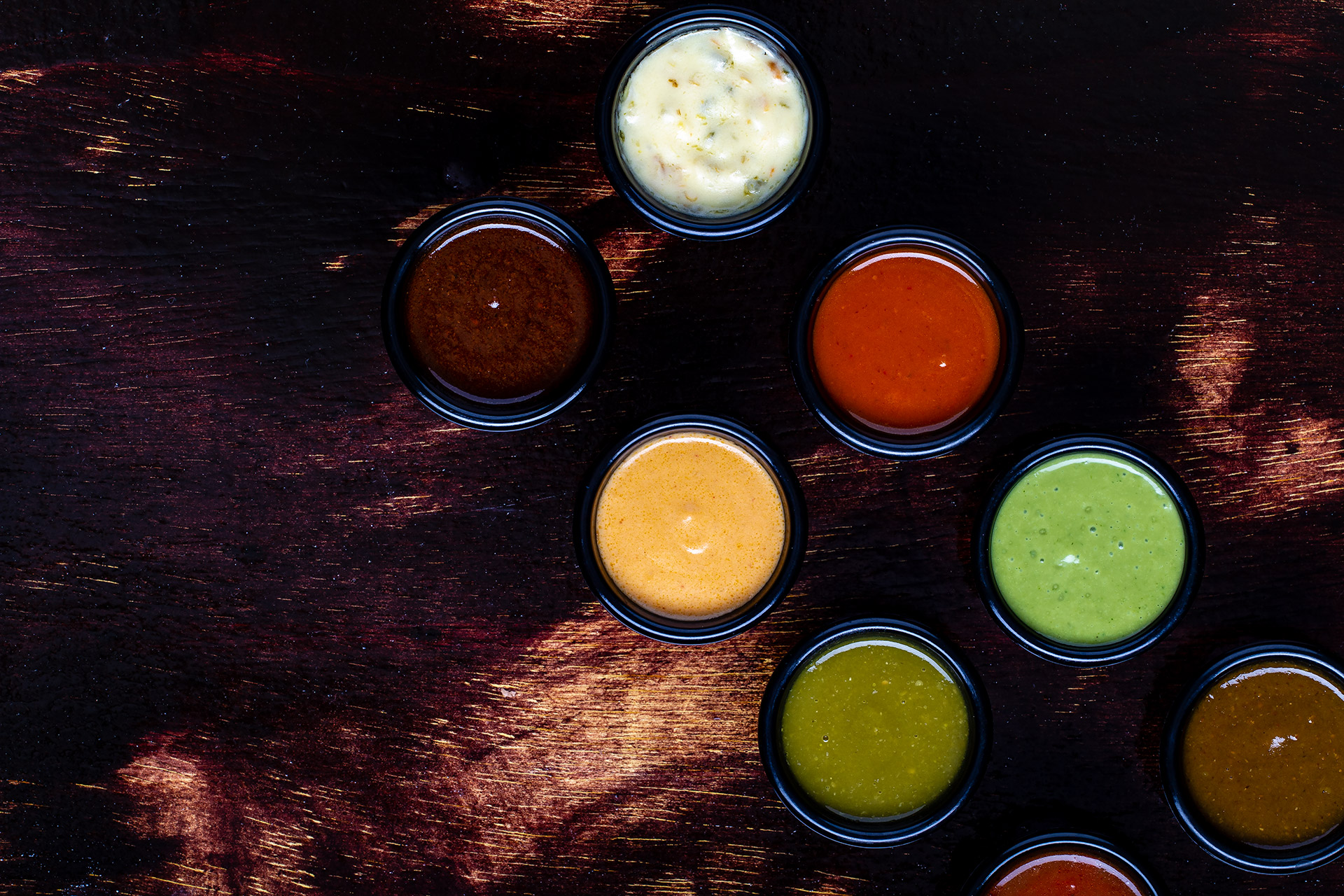 Abys Mexican Restaurant Sauces